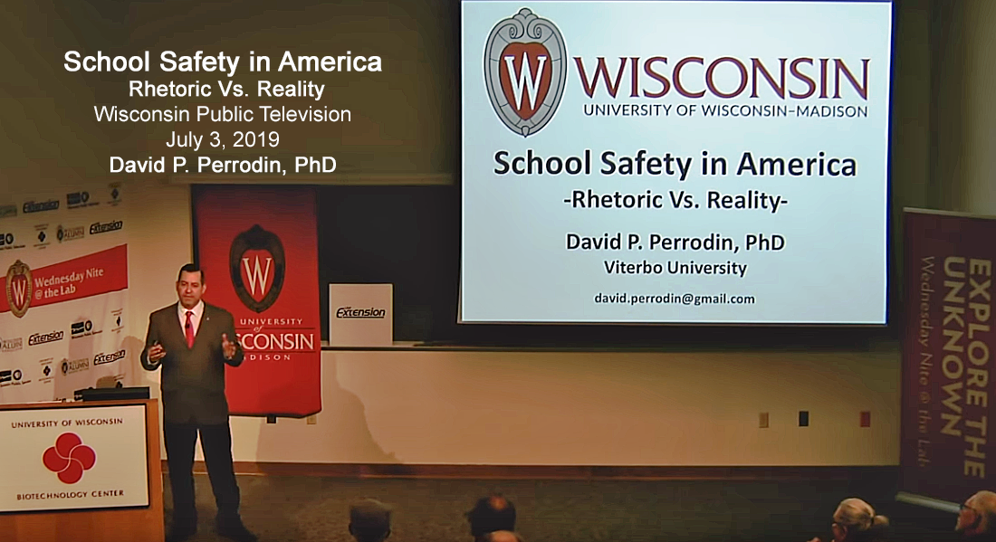 Dr. Perrodin presenting on Wisconsin Public Television